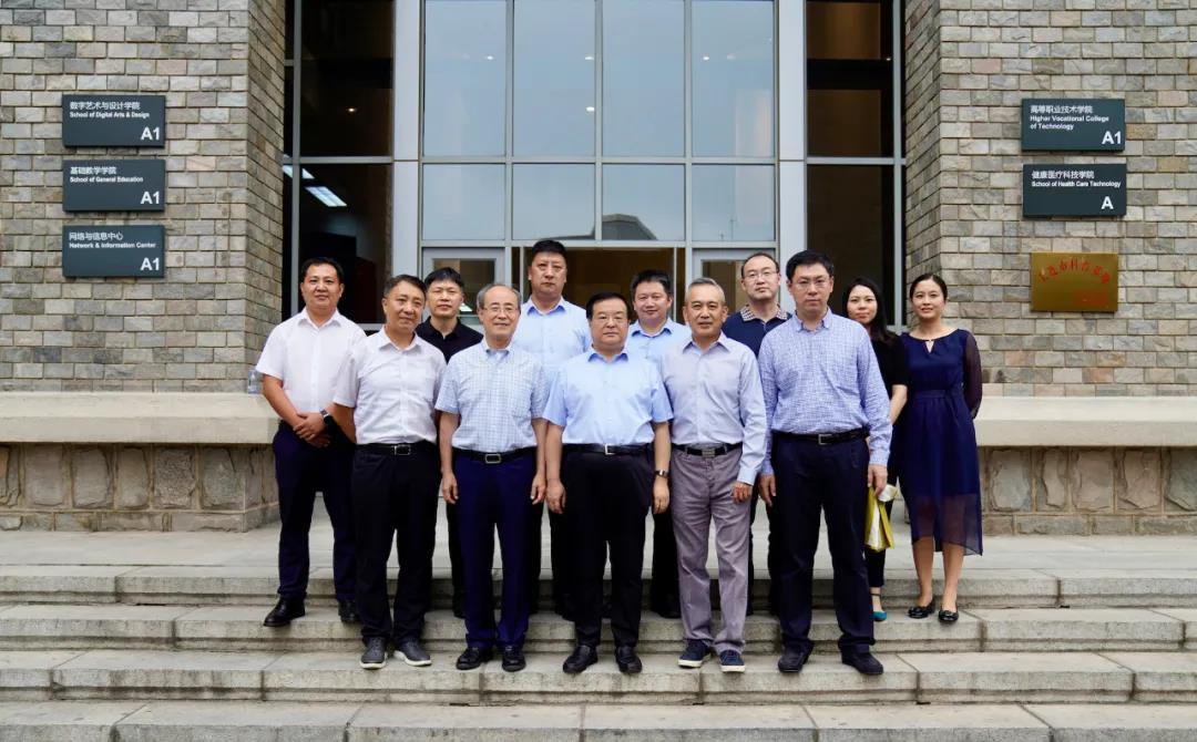 【东软教育】中国电信集团公司李正茂总经理一行来访东软教育参观交流